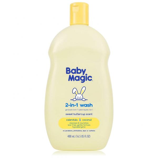 Champú Baby Magic y lavado 2 en 1 1