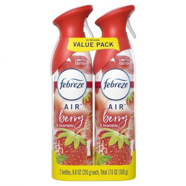 Ambientador Febreze Berry & Bramble, 2 unidades