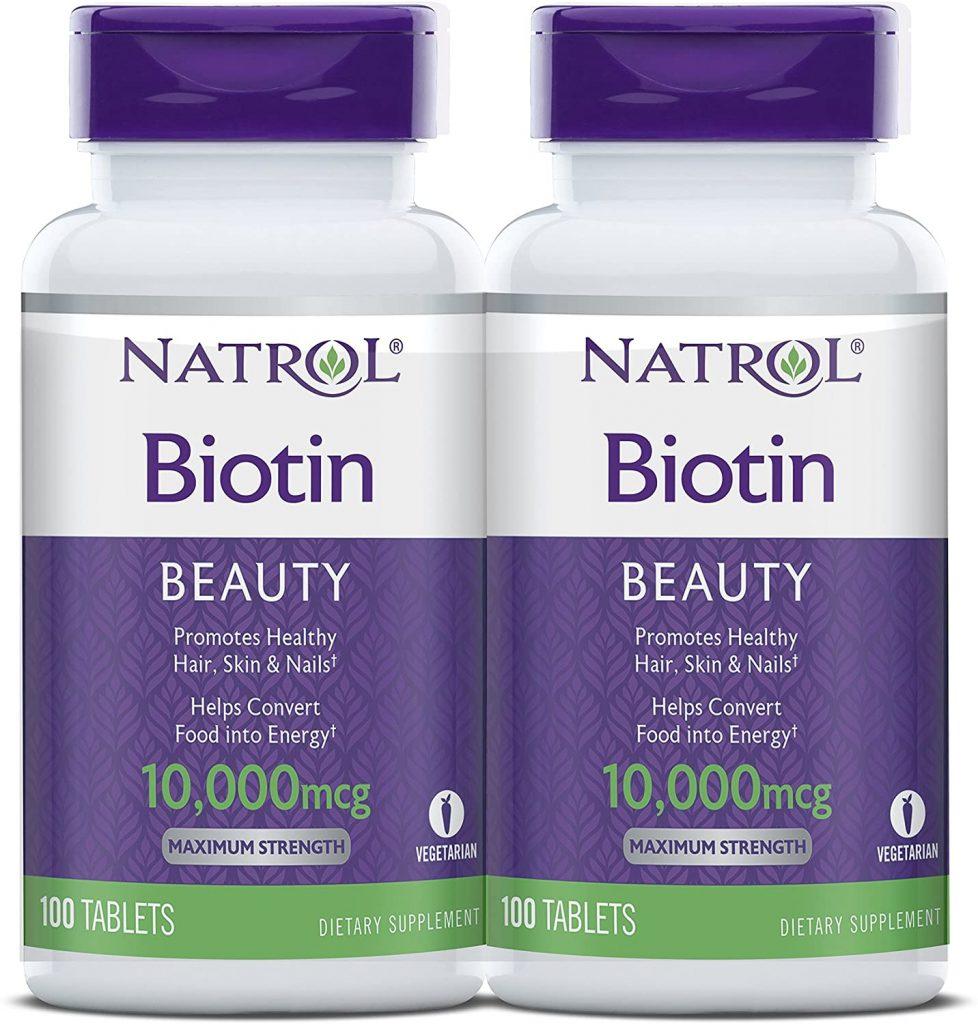 Biotin (10,000mcg) Fuerza máxima.