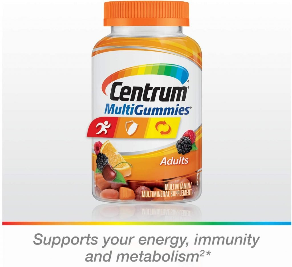 Centrum Gomitas multiminerales sin gluten para adultos