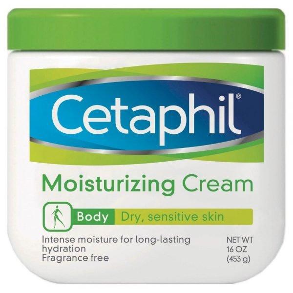 Cetaphil crema hidratante para pieles secas y sensibles, cuerpo 1