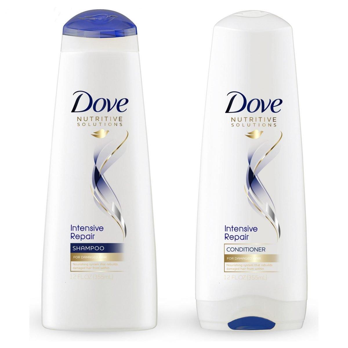 Champú y acondicionador de reparación intensiva - Dove Solutions
