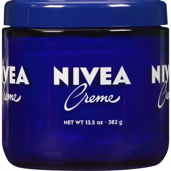NIVEA Creme, rica crema hidratante, uso después del lavado de manos, 13.5 oz. Tarro