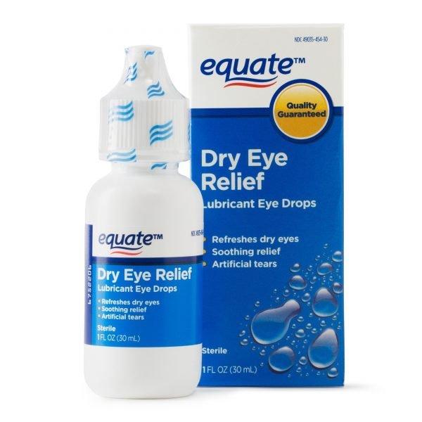 Equate Gotas lubricantes para los ojos
