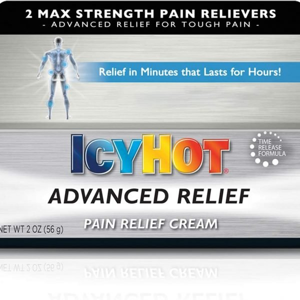 Icy Hot Advanced Relief Alivio del Dolor Cream