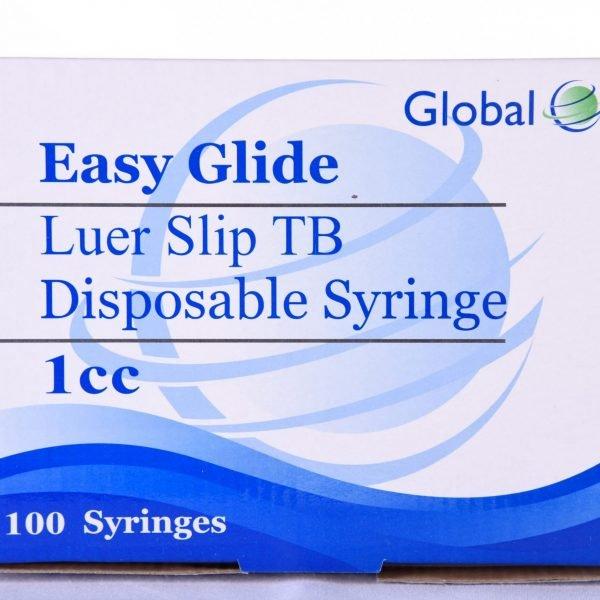 Jeringa estéril global de 1 ml