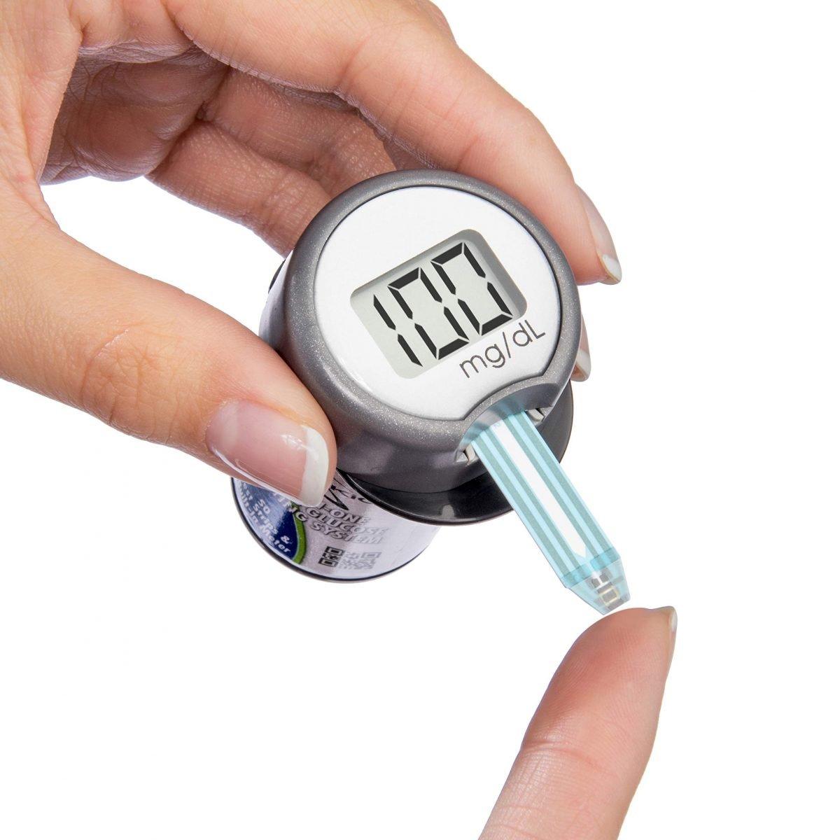 Kit de medidor de glucosa todo en uno Sidekick