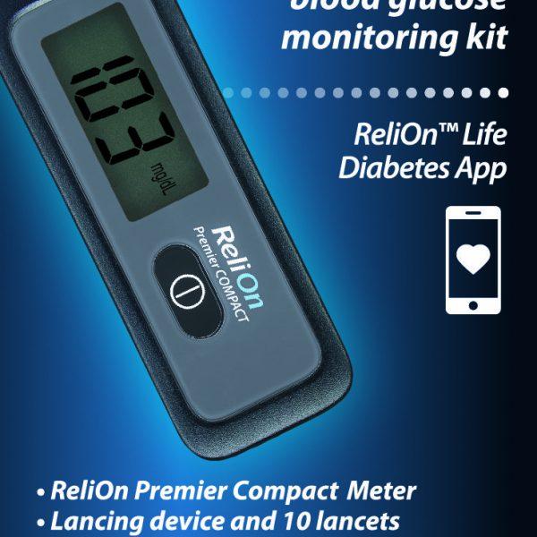 Kit de monitorización de glucosa en sangre