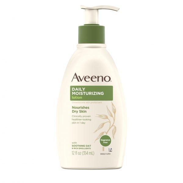 Loción Hidratante Aveeno Daily con Avena para Piel Seca 1
