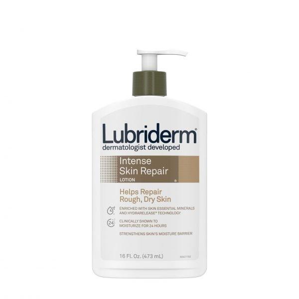 Loción reparadora de piel seca Lubriderm Intense