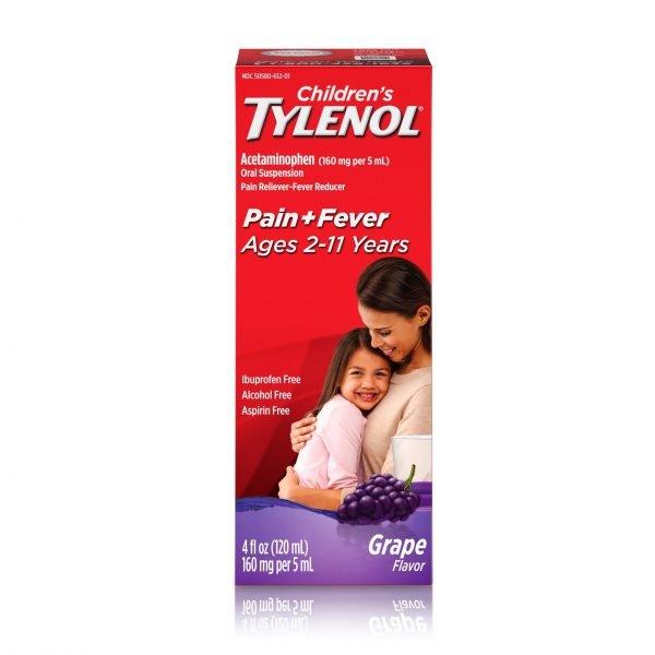 Medicina para el resfriado Children's Tylenol
