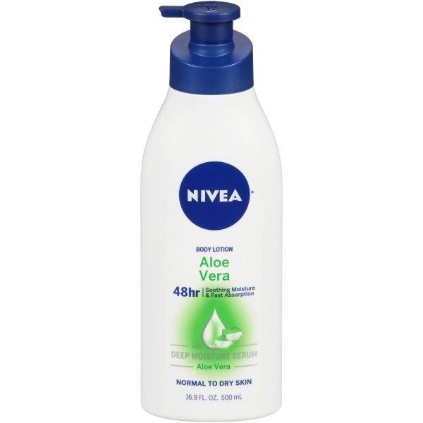 NIVEA Aloe Body Lotion, 16.9 oz.