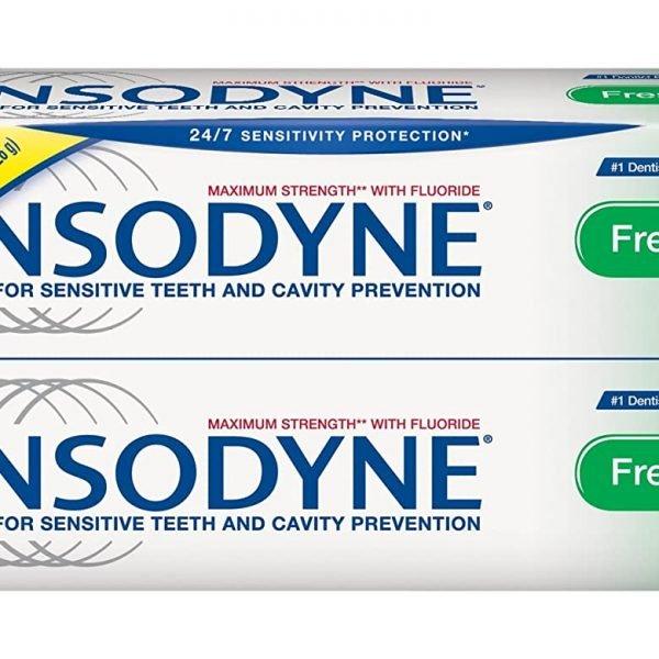 Pasta de dientes Sensodyne de menta fresca y paquete doble