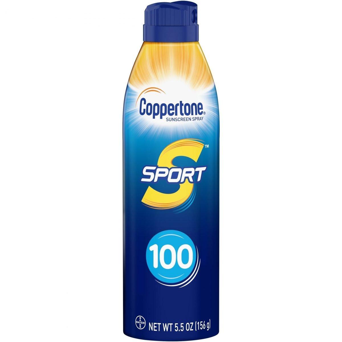 Protector Solar Coppertone Sport Sunscreen Spray