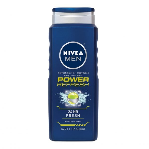 Gel de baño NIVEA Men Power Refresh