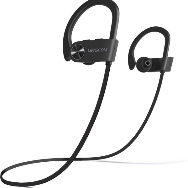 LETSCOM - Auriculares Bluetooth IPX7