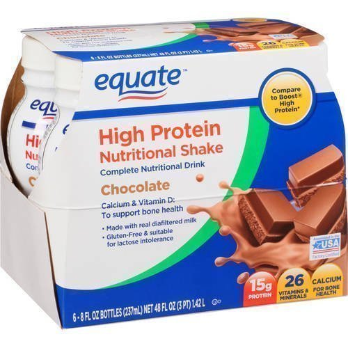 Batidos nutricionales Equate High Protein Chocolate