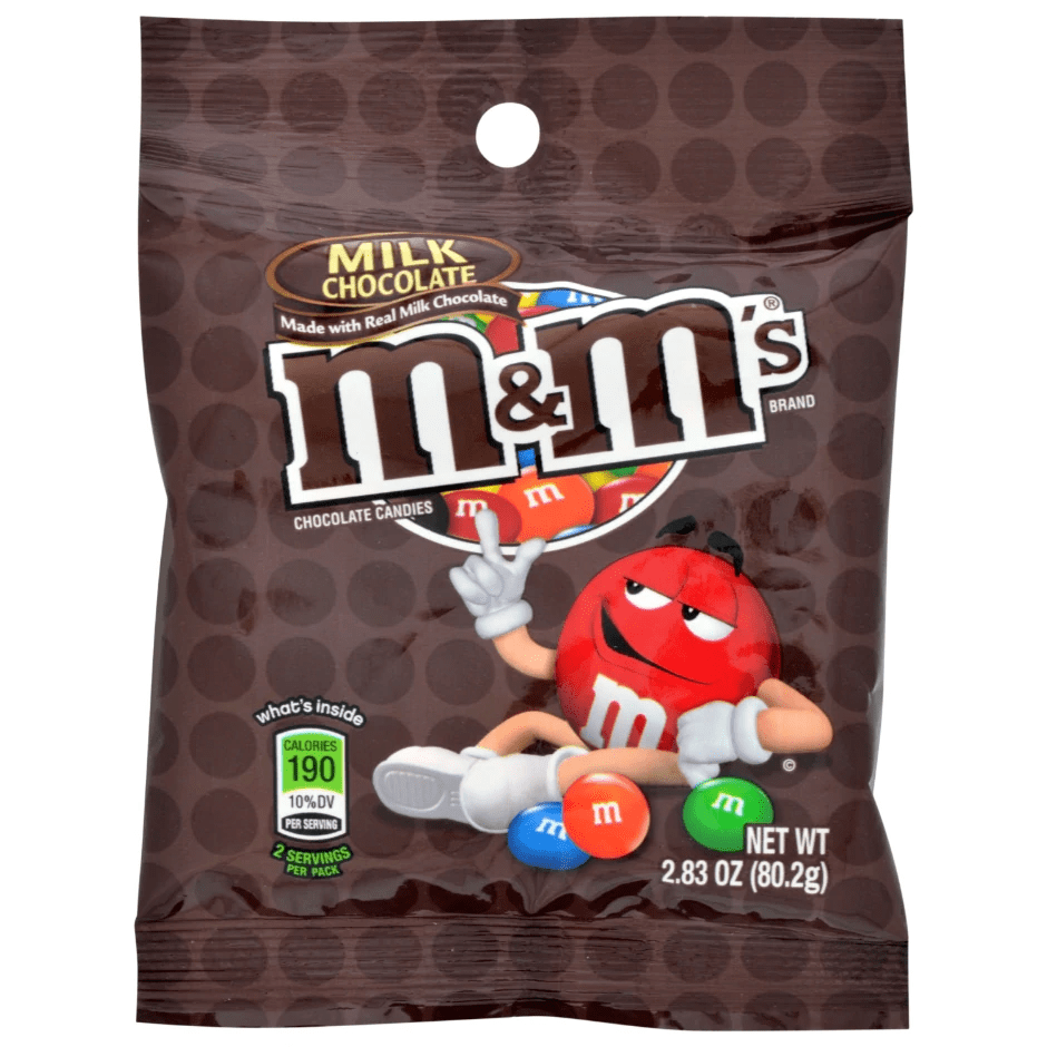 M&M's Chocolate Candies, 2.83 oz. 1