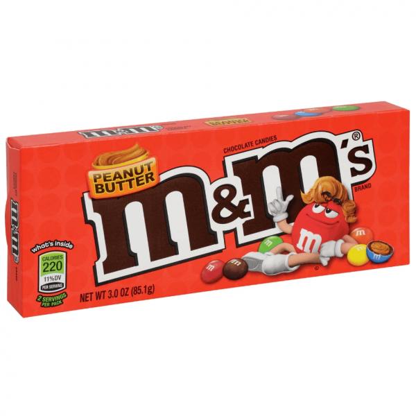 M&M's Peanut Butter Candies, 3 oz