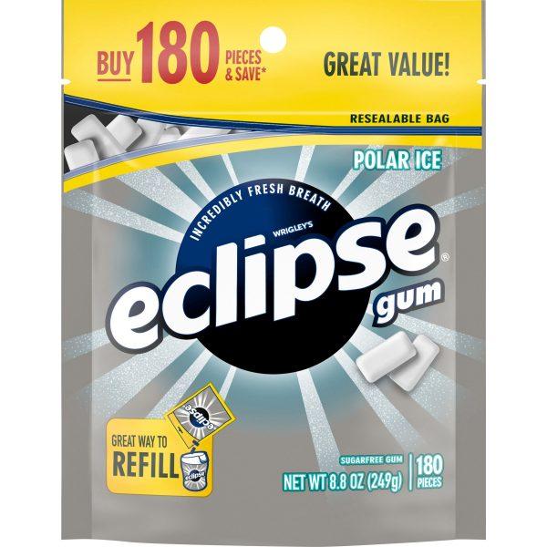 Masticables Eclipse Gum sin azúcar