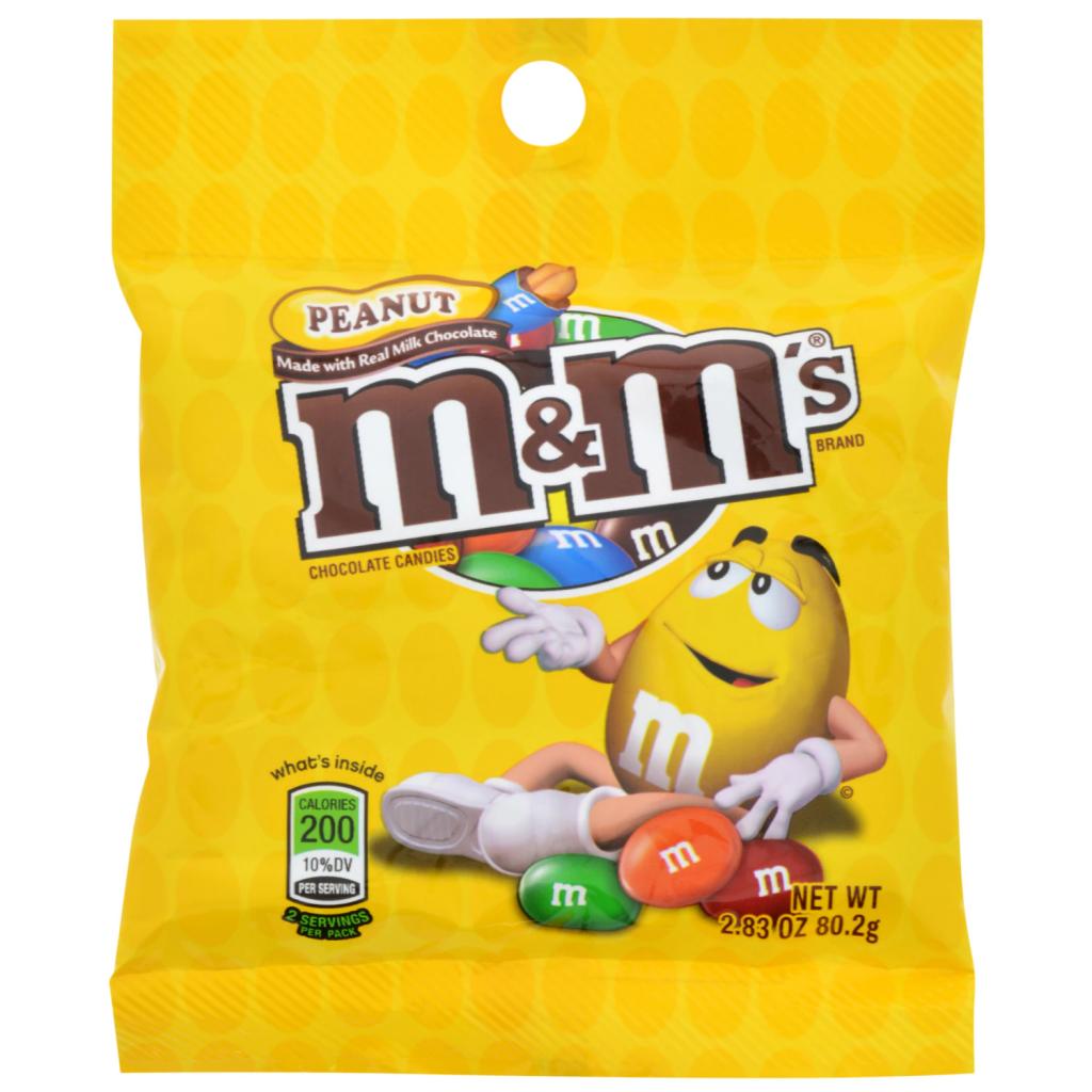Peanut M&M's Candy, 2.83 oz