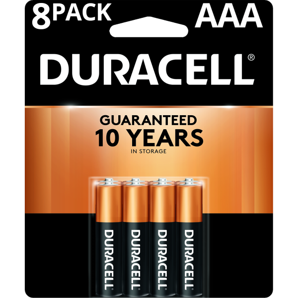 Pilas Duracell Triple AAA