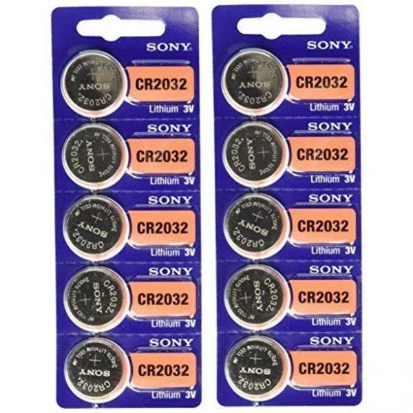 Sony CR2032 Baterías de litio de 3V