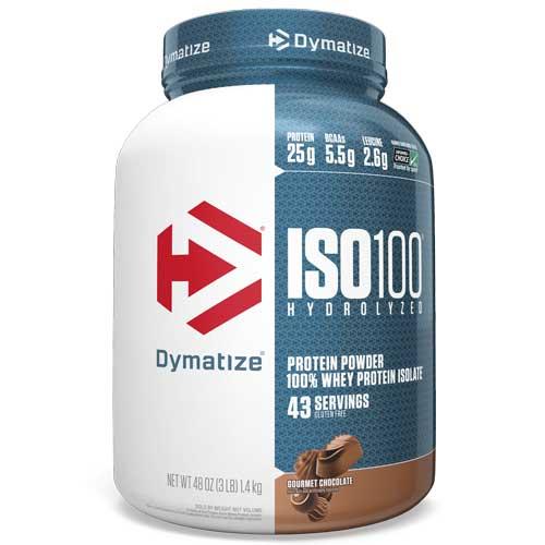 Dymatize ISO 100 - Proteína de suero hidrolizado sabor chocolate