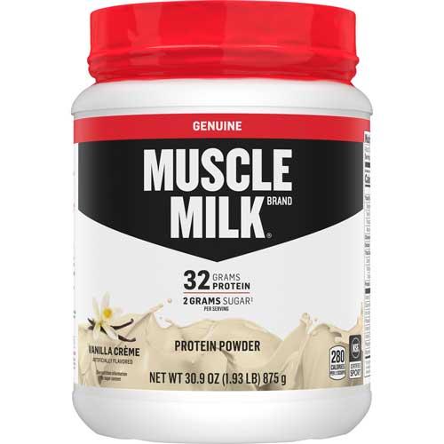 Proteína de chocolate, genuine Muscle Milk
