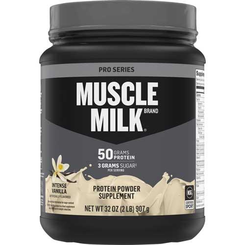 Proteína en polvo Muscle Milk Pro Series, vainilla intensa